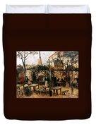 Van Gogh: Guingette, 1886 Duvet Cover