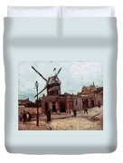 Van Gogh: La Moulin, 1886 Duvet Cover