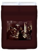Van Gogh: Meal, 1885 Duvet Cover