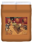 Van Gogh Night Cafe 1888 Duvet Cover