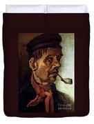 Van Gogh: Peasant, 1884 Duvet Cover