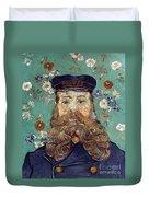 Van Gogh: Postman, 1889 Duvet Cover