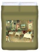 Van Gogh: Restaurant, 1887 Duvet Cover