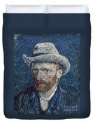 Van Gogh: Self-portrait Duvet Cover