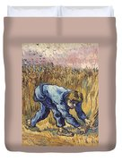 Van Gogh: The Reaper, 1889 Duvet Cover