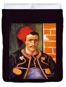 Van Gogh: The Zouave, 1888 Duvet Cover
