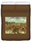Van Gogh: Vineyard, 1888 Duvet Cover