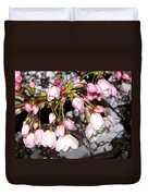 Vancouver Cherry Blossoms Duvet Cover