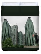 Vancouver City Canada Duvet Cover