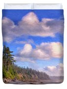 Vancouver Island Duvet Cover