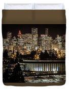 Vancouver Lights Duvet Cover