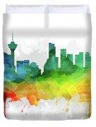 Vancouver Skyline Mmr-cabcva05 Duvet Cover