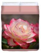 Vanilla Cherry Rose Duvet Cover
