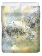 Vanishing Seagull Duvet Cover