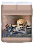 Vanitas After Pieter Claesz Duvet Cover