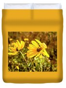 Variableleaf Sunflower Duvet Cover