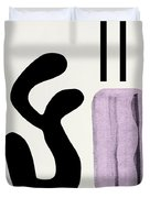 Variation Matisse Pink Duvet Cover