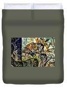 variation of Kardinsky Duvet Cover