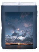 Variations Of Sunsets At Gulf Of Bothnia 5 Duvet Cover