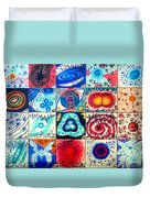 Variety Of Space Galaxies Stars Anomalies. Part 3 Duvet Cover