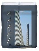 Varina Enon Bridge In Va Duvet Cover