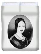 Varina Howell Davis (1826-1906) Duvet Cover