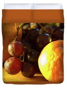Various Fruit Duvet Cover by Brian Roscorla
