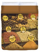 Various Spices Duvet Cover