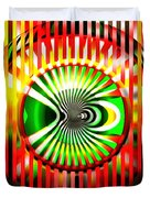 Vasarely Universe Duvet Cover