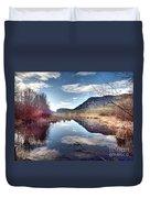 Vaseux Reflections Duvet Cover