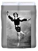 Vaslav Nijinsky, Ballet Dancer Duvet Cover