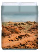 Vast Desert Valley Of Fire Duvet Cover