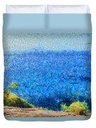 Vast Expanse Of The Ocean Duvet Cover