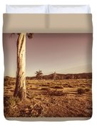 Vast Pastoral Australian Countryside  Duvet Cover