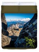 Vastly Majestic High Sierras Duvet Cover