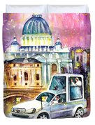 Vatican Authentic Duvet Cover