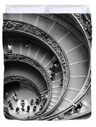 Vatican Bw Duvet Cover by Stefano Senise