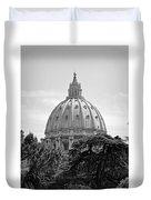Vatican City Dome Duvet Cover