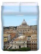 Vatican Rome Duvet Cover