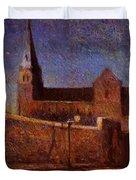 Vaugirard Church 1879 Duvet Cover