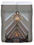 Vaulted Lights Duvet Cover