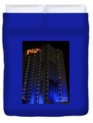 Vegas Plaza Duvet Cover