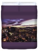 Vegas Sunset Duvet Cover