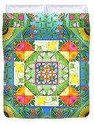 Vegetable Patchwork Duvet Cover