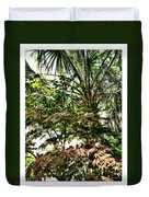 Vegetation Takeover Duvet Cover