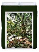 Vegetation Takeover Duvet Cover