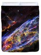 Veil Nebula - Rainbow Supernova  Duvet Cover