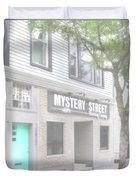 Veiled Mystery Mystery Street  Duvet Cover
