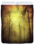 Veiled Trees Duvet Cover