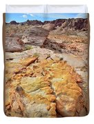Vein Of Gold In Valley Of Fire State Park Duvet Cover
